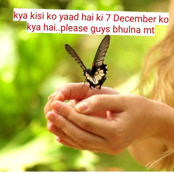 happy birthday 😋 - kya kisi ko yaad hai ki 7 December ko kya hai . . please guys bhulna mt - ShareChat