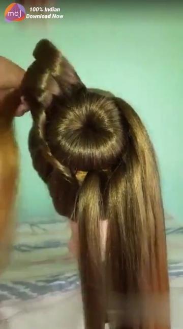 Hair Style Hair Style Hair Style Hair Design Hair Tips Video Simple Kudi Sharechat Funny Romantic Videos Shayari Quotes