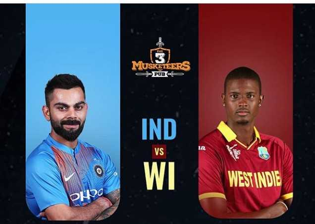 🏏IND vs WI - MUSKETEERS 9 - PUB WEST INDIE Do - ShareChat