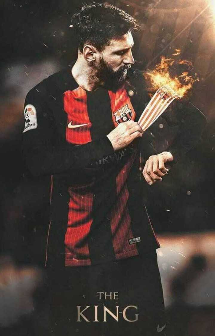 😍 Messi Fans - ga THE KING - ShareChat
