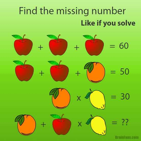 🤔 Thursday puzzles - Find the missing number Like if you solve + + BrainFans . com - ShareChat