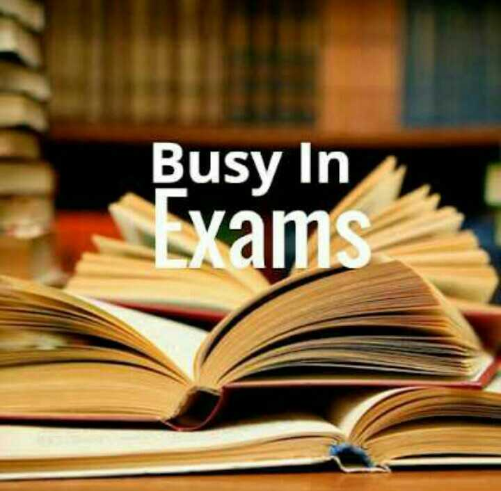 exam time - Busy In stxams - ShareChat