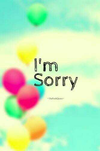 follow me - I ' m Sorry - The - ShareChat